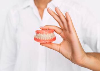 steps how to remove plaque from dentures sunshine coast